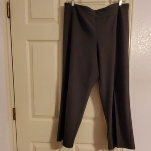 Gray Plus size trousers